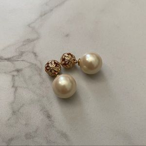 KATE SPADE Two Sided At First Blush Pearl Earrings
